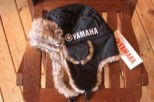 US YAMAHA FAUX RABBIT FUR BOMBER HAT